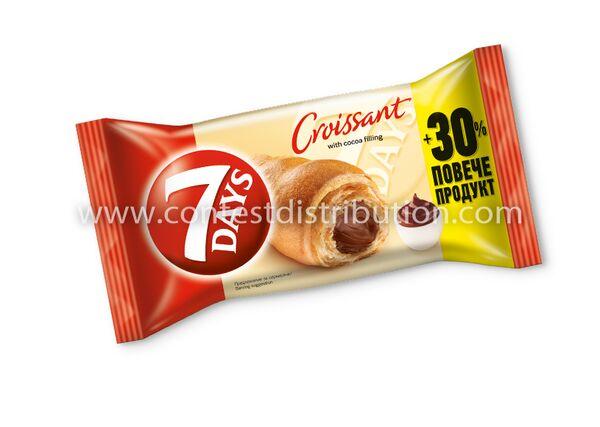 Croissant 7 Days Midi Cocoa 60 g + 30% Gratis
