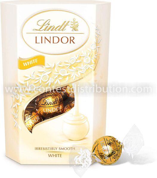 Lindt Lindor White 200 g