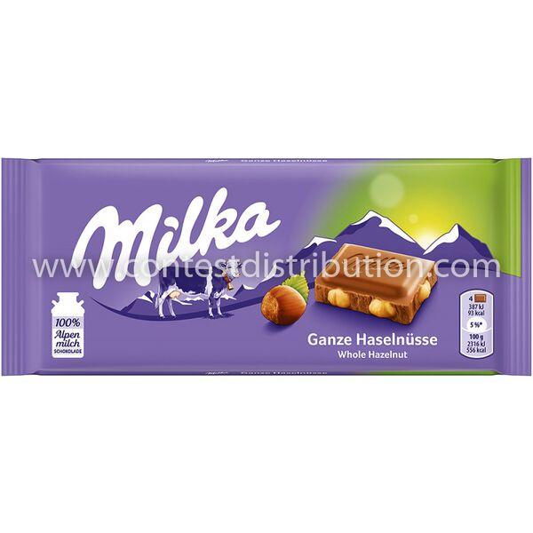 Milka Whole Hazelnuts 100 g