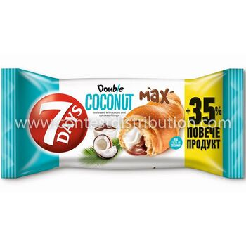 Croissant 7 Days Double Coconut And Cocoa 80 g + 35% Gratis