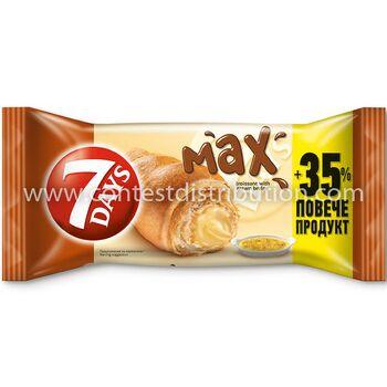 Croissant 7 Days Max Brule 80 g + 35% Gratis