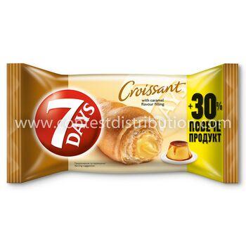 Croissant 7 Days Midi Caramel 60 g + 30% Gratis