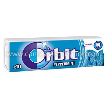 Orbit Peppermint dragee- 10 pellets