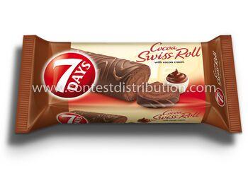 Swiss Roll 7 Days Cocoa Glazed 200 g